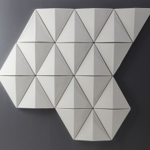 Moulded Acoustic Wall Panel