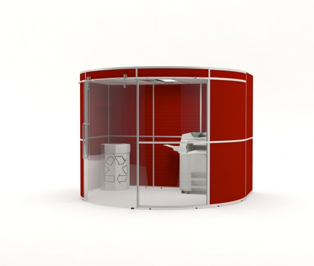 Gallery Image - Acoustic Pods for Print Rooms