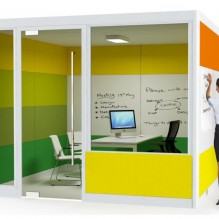 Acoustic Meeting Pods in Colours