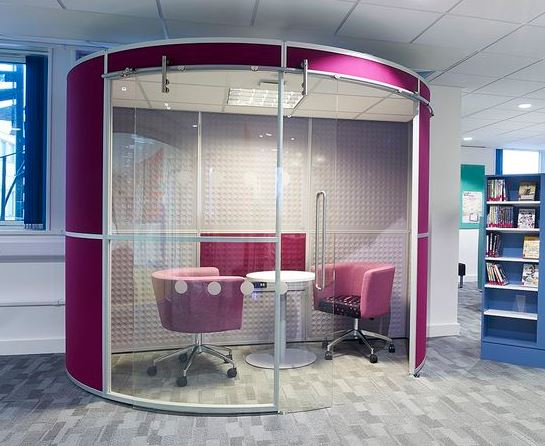 Gallery Image - Acoustic Pods with Ceilings