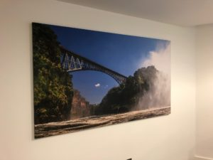 Acoustic Wall Art Bridge