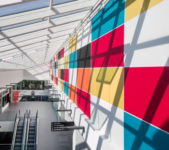 Gallery Image - Fabric Wrapped Acoustic Wall System
