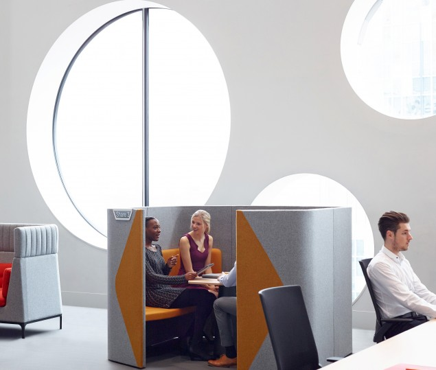 Gallery Image - Interview Acoustic Pods