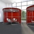 Gallery Image - Partial Glazed Acoustic Pods