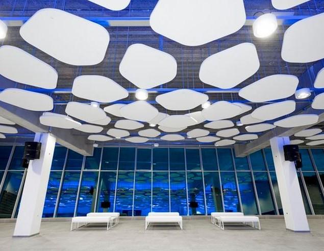 Gallery Image - Pentagonal Acoustic Rafts