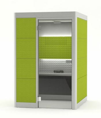 Gallery Image - Small Square Acoustic Pods