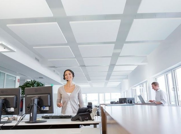 Square Acoustic Rafts Sound Absorbing Panels
