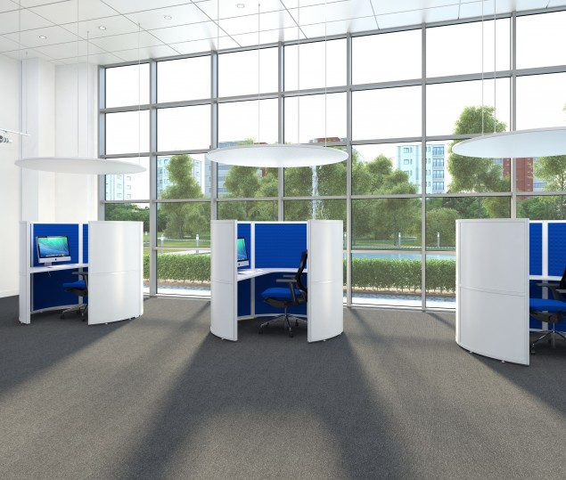 Gallery Image - Telesales Acoustic Pods