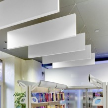 Vertical Acoustic Baffles