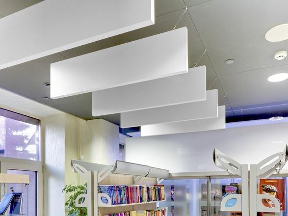 Gallery Image - Vertical Acoustic Baffles