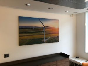 Acoustic Wall Art Windmill