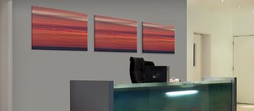 Polymer Acoustic Wall Panels with Artworks