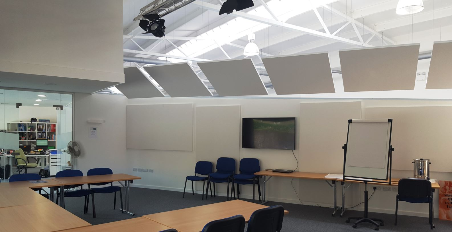 Solve Noise Problems in Offices Exeter CVS-min