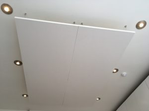 Ceiling Mounted Acoustic Rafts