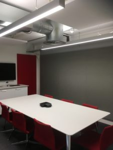 Acoustic Rafts and Acoustic Wall Panels