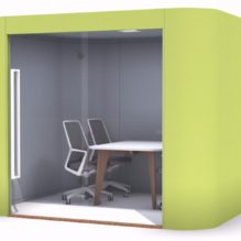 Modern Acoustic Pod for Meetings and Private Working